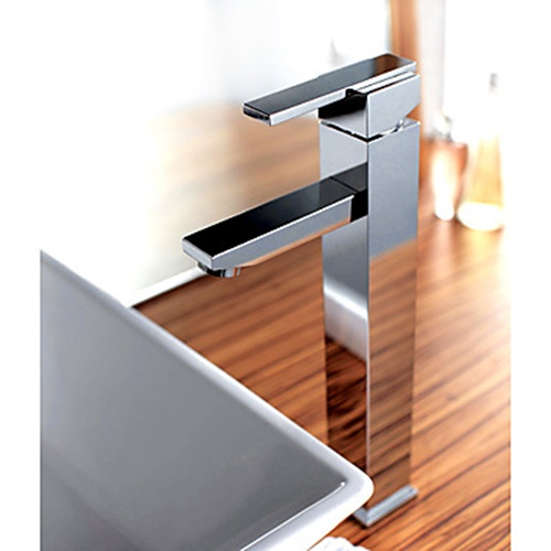 square type tall basin mixer