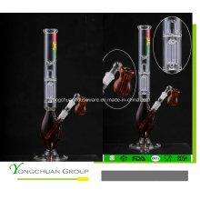 Color Niza vidrio cachimbas hecho a mano de vidrio Shisha fumar 601