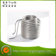 Tuyaux de chauffage de bobine d'acier inoxydable de haute qualité