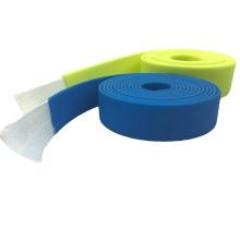 Web revestido do PVC do plástico da cor Assorted para a correia