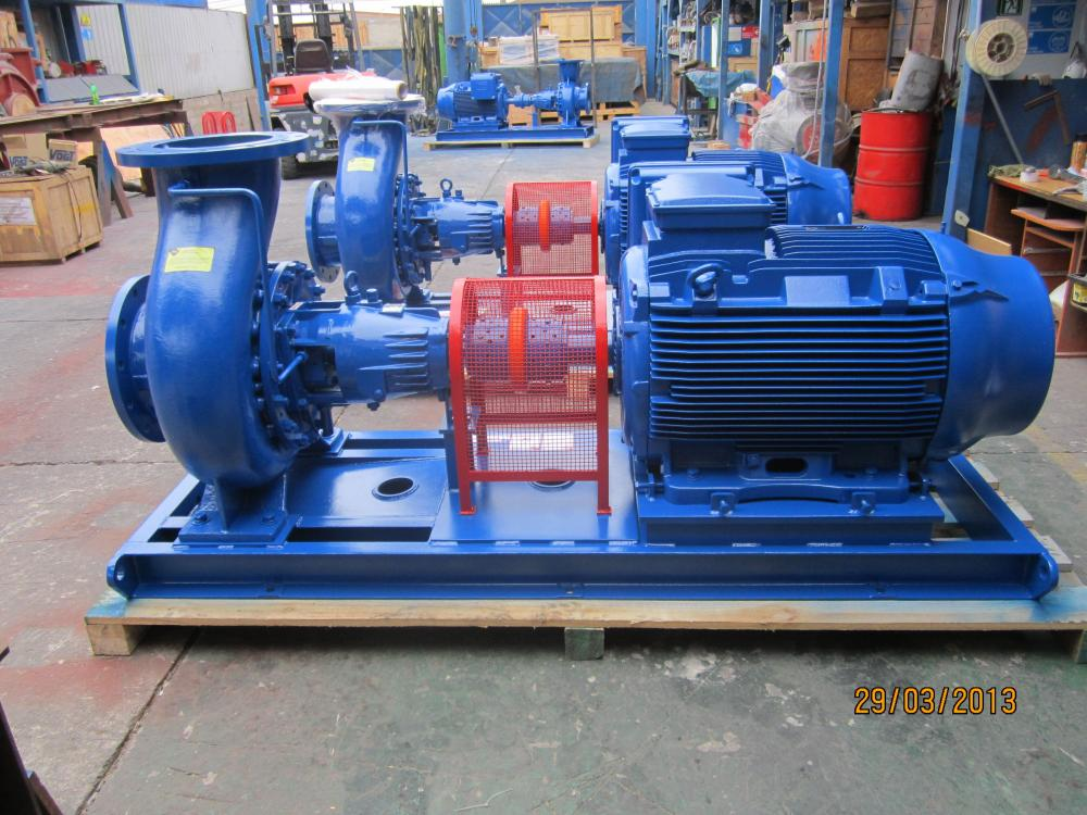 OH1 Petrochemical pumps API610 8 11 edition