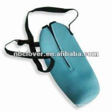 Portable insulated Neoprene wine bag