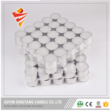 Home party decoration plastic bag tealight candle