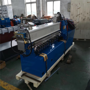 parallel co-rotating twin screw extruder machine