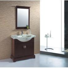 Solid Wood Bathroom Cabinet (B-348)