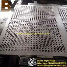 Malla metálica perforada de aluminio para decoración