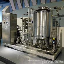 Station de traitement d'eau industrielle Ro pour l'industrie pharmaceutique