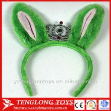 Пользовательские плюшевые игрушки плюшевые лисы уши короны повязка для волос