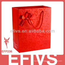 Red Bowknot Small Gift Box With Silk Ribbon Wholesale