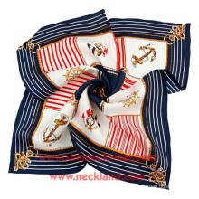 Großhandels-Twill-Digitaldruck-Silk Schals
