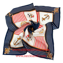 Wholesale Twill Digital Printing Silk Scarves