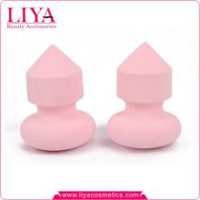 Outils de latex cosmétique éponges de maquillage rose