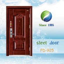 China mais recente desenvolver e projetar porta de segurança de aço único (FD-925)