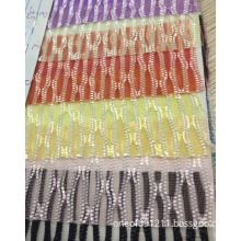 Colorful Wave Mesh Fabric for Garment /Shoes/ Bag