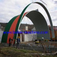 Bh No-Girder Arch Sheet Building
