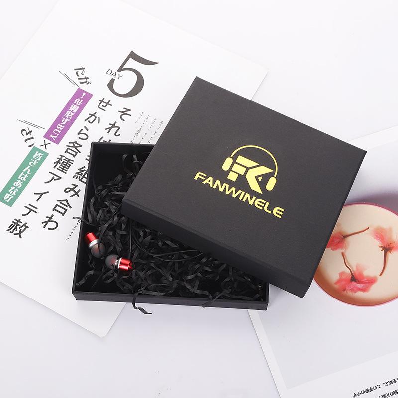 Black Earphone Box 1