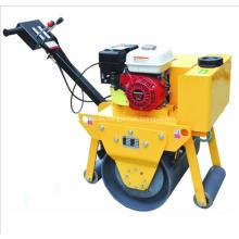 Rodillo compactador vibratorio de mano para la construcción de carreteras