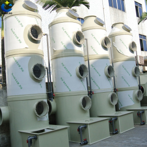 Air Purification Acid Fume Scrubber Tower