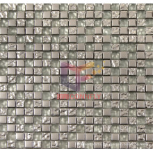 Titanium Crystal Glass Mosaic Tile (CFTC311)
