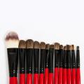 22PCS Hot Selling Professional Ensemble de brosse à maquillage imprimé personnalisé