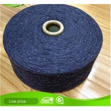 Recycled Schwarzes Baumwoll-Polyester-Garn für Handschuhe
