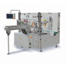 Premade Bag Food Filling Sealing Packaging Machine For Liqud Powder Solid