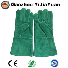 Ce Cowhide Heat Resistant Work Welding Gloves