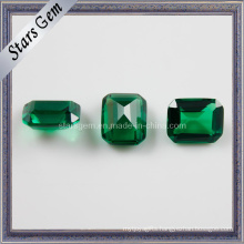 Good Quality Emerald Greene Cubic Zirconia Gemstone