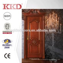 Твердые деревянные двери MD - 522 Л с МДФ