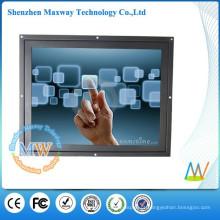 Resolução de 800x600 monitor do toque do quadro aberto do lcd de 12,1 polegadas