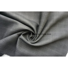 Check Stain Weave Fabric for Suit
