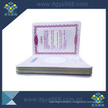 Embossing Printing Booklet for Government