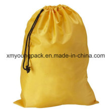 Custom Large Drawstring Waterproof Nylon Laundry Bag