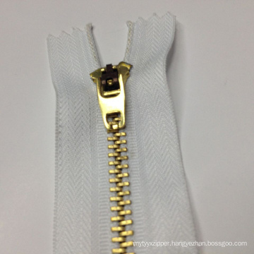 Brass Zipper 7027