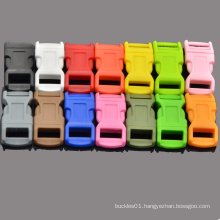 """1/2"""" Colorful Contoured curved Side Release Plastic Buckles by Generic for Paracord Bracelet"""