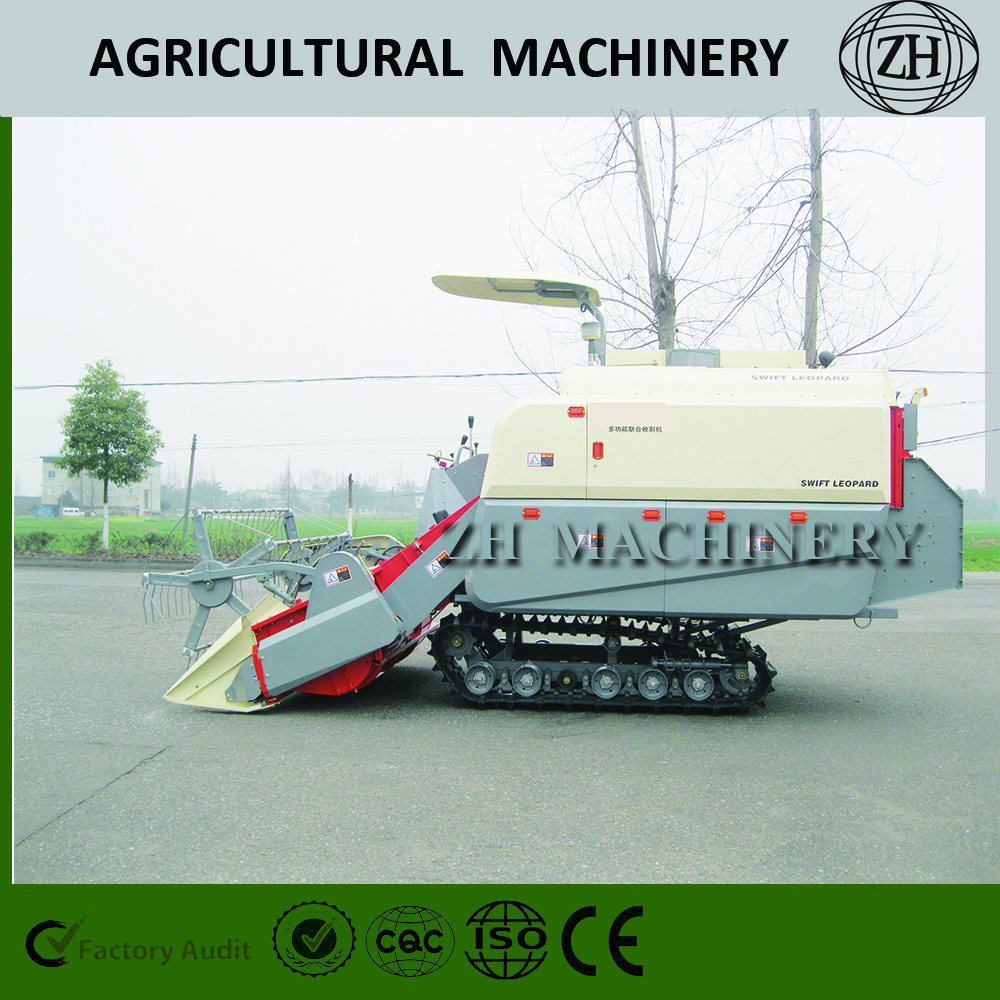 Full Feeding Harvesting Combine Harvester for Paddy