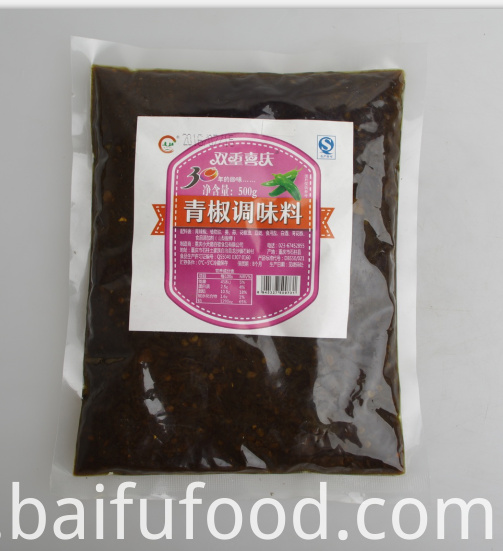 500g Chongqing green pepper seasoning