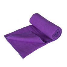 Atacado de microfibra camurça toalha de yoga anti derrapante