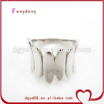 316 stainless steel new design rings silver jewelry wholesale