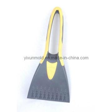 Molde de injeção plástico da escova dobro da cor