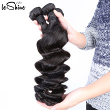 Loose Wave 3 Bundles Deal Brazilian Hair Virgin Cuticle Aligned Human No Shed No Dangle