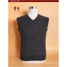 Yak Wool /Cashmere V Neck Pullover Long Sleeve Sweater/Clothing/Garment/Knitwear