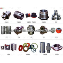 Drilling rig mud pump and parts