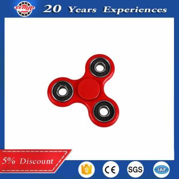 Red Hand Spinner Fidget Toy Roulement en acier inoxydable haute vitesse EDC