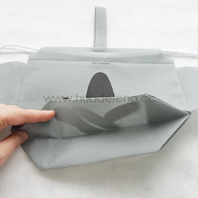 animal drawstring bag