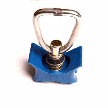 25 мм одиночный шпилька с треугольным кольцом
