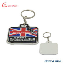 Wholesale Custom Made UK Flag Factor PVC Keychain