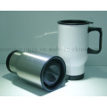 OEM Double Wall Stainless Steel Mug with Cover Cap