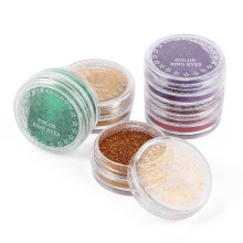 2021 Hot Selling Cosmetics Waterproof Popular Eyes Makeup Palette Shimmer Glitter Eye Shadow Powder