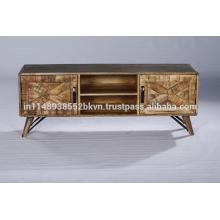 Industrial Vintage Panel Wohnzimmer Möbel Holz TV Stand